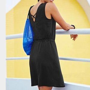 Athleta   Black Lively Sheath Dress Size S
